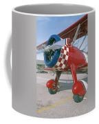 Old Biplane V Coffee Mug