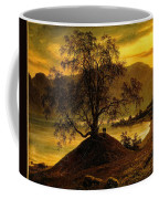 Old Birch Tree At The Sognefjord Coffee Mug