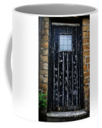 Vintage Cottage Black Door Coffee Mug