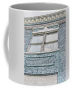 Old Blue Building I Coffee Mug