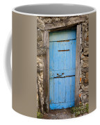 Old Blue Door Coffee Mug
