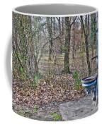 Old Blue Fountain Coffee Mug