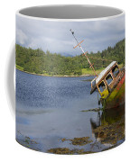 Old Boat In The Loch  Coffee Mug