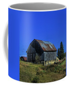 Old Broken Down Barn In Ohio Coffee Mug