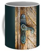 Old Bronze Church Door Handle Coffee Mug