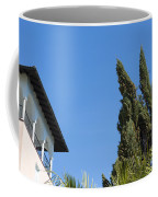 Old Building And Trees Coffee Mug