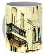 Old Building Facade Coffee Mug