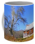 Old Cabin And Tree Coffee Mug