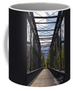 Old Canmore Railroad Bridge Coffee Mug