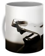 Old Car Hood Ornament Coffee Mug