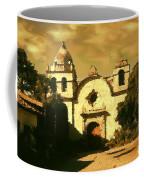 Old Carmel Mission - Watercolor Coffee Mug