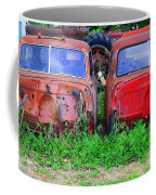 Old Cars Coffee Mug