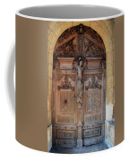 Old Carved Church Door Coffee Mug