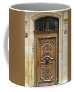 Old Carved Door Coffee Mug