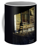 Old Chair On Old Porch Coffee Mug