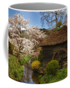 Old Cherry Blossom Water Mill Coffee Mug