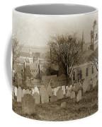 Old Church's Cemetery Graveyard Boston Massachusetts Circa 1900 Coffee Mug