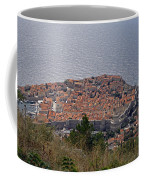 Old City Of Dubrovnik  Coffee Mug