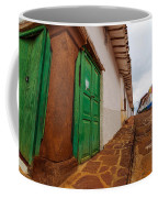 Old Colonial Street Corner Coffee Mug