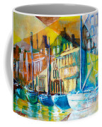 Old Copenhagen Thru Stained Glass Coffee Mug