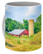 Old Country Farm And Barn Coffee Mug