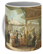 Old Covent Garden Market Coffee Mug by George the Elder Scharf