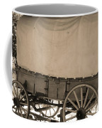 Old Covered Wagon Out West Coffee Mug by Dan Sproul