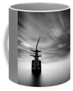 Old Crane Coffee Mug by Dave Bowman