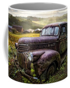 Old Dairy Farm Truck Coffee Mug