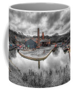 Old Dock Coffee Mug by Adrian Evans