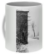 Old Door And Tree Coffee Mug by William Jobes