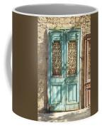 Old Door In Jersusalem Israel Coffee Mug