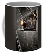 Old Door Lock Coffee Mug by Olivier Le Queinec