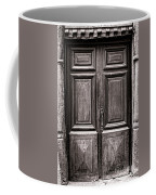 Old Door Coffee Mug by Olivier Le Queinec