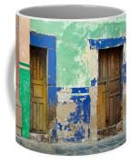 Old Doors, Mexico Coffee Mug