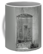 Old Doorway Bw Coffee Mug
