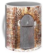 Old Doorway Of Pidgeon Island Fort Coffee Mug