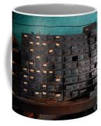 Old Drawers Coffee Mug