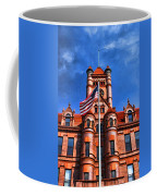 Old Dupage County Courthouse Flag Coffee Mug