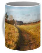 Old English Landscape Coffee Mug by Pixel Chimp