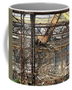Old Factory Is Being Demolished Coffee Mug