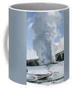 Old Faithful In Her Glory - Yellowstone Coffee Mug
