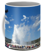 Old Faithful. With Thanks To Lee Coffee Mug