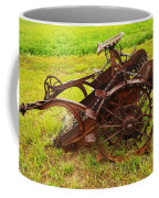 Old Farm Equipment Hardin Montana Coffee Mug