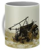 Old Farm Equipment Northwest North Dakota Coffee Mug by Jeff Swan