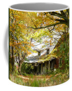 Old Farm House Behind Color Coffee Mug