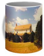 Old Farmhouse Landscape Coffee Mug