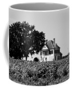 Old Farmhouse Surrounded By Cotton Coffee Mug