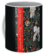 Old Fashioned Christmas Coffee Mug by Carolyn Marshall