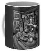 Old Fashioned Dentist Office Bw Coffee Mug